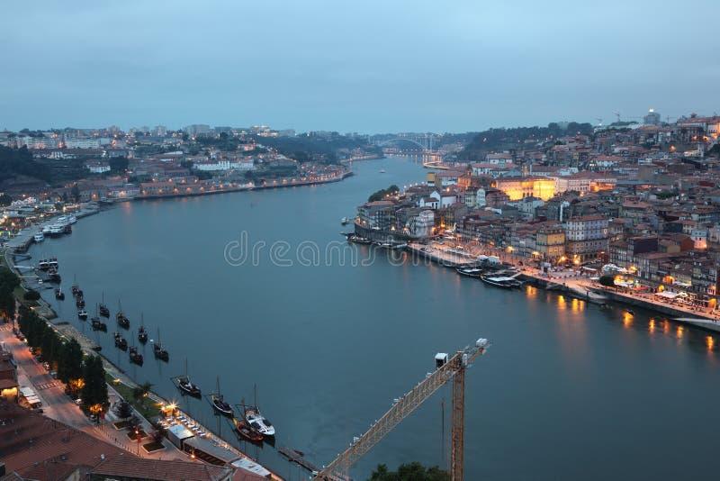 Fleuve de Douro à Porto, Portugal photo libre de droits