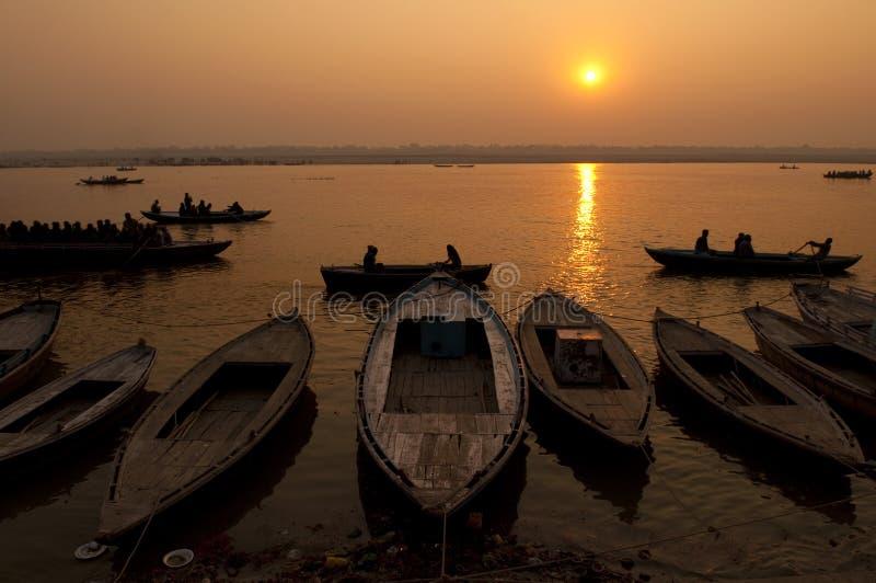 Fleuve de Ganges photographie stock libre de droits
