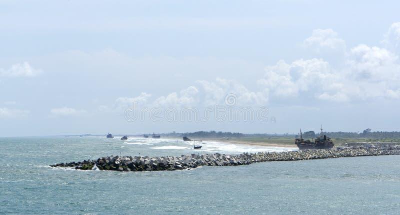 Fleuve de Lagos image stock
