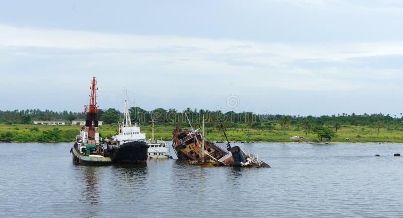 Fleuve de Lagos photo stock