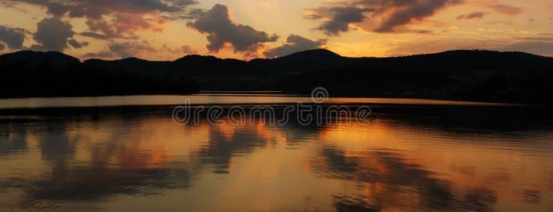 Fleuve de Panoramatic image libre de droits