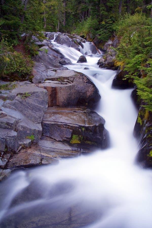 Fleuve de paradis par Night photographie stock libre de droits
