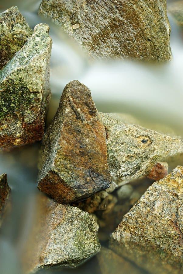 Fleuve de pierres - 2 image stock