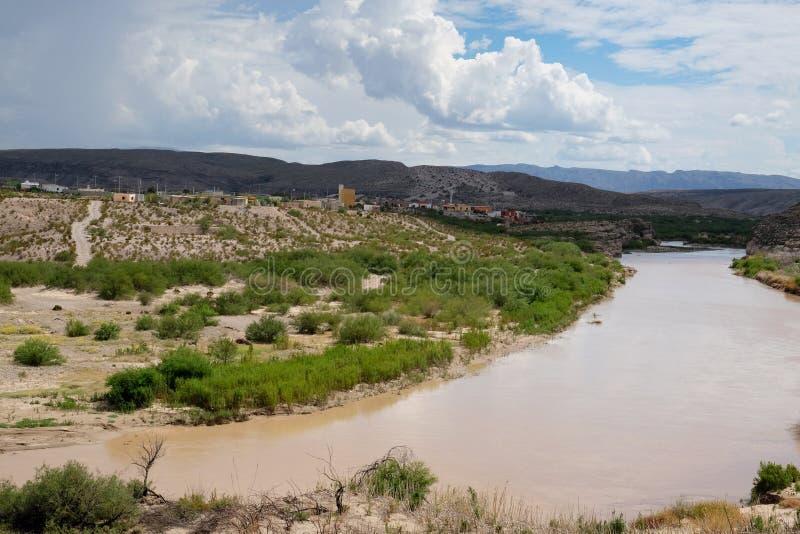 Fleuve de Rio Grande photo libre de droits