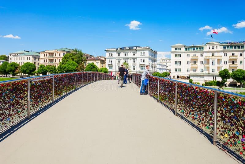 Fleuve de Salzach à Salzbourg photos libres de droits