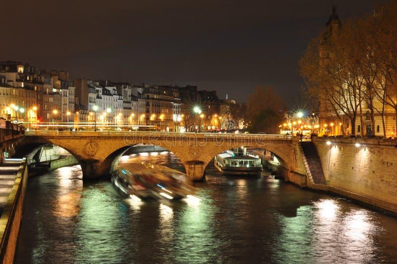 Fleuve de Seine image libre de droits
