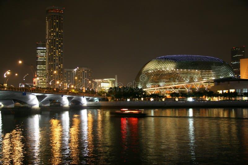 Fleuve de Singapour photo stock