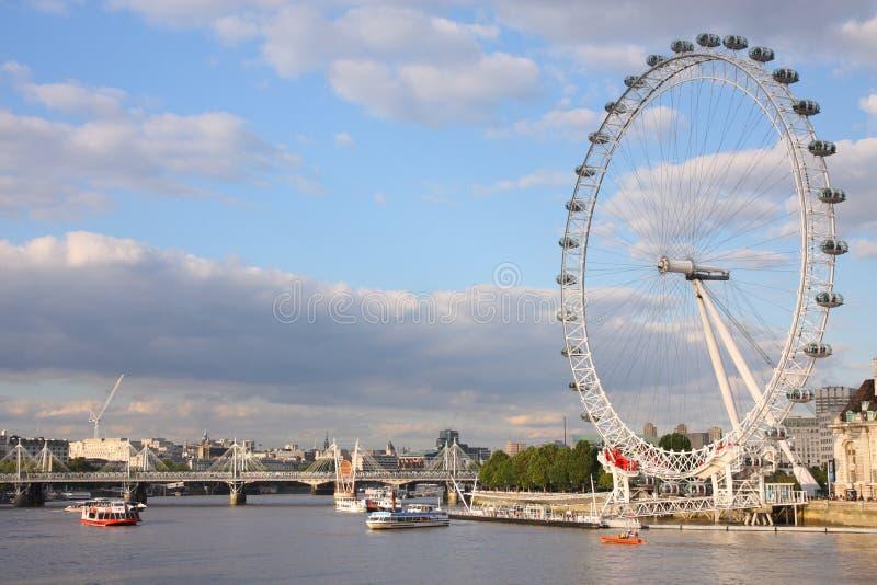 Fleuve de Tamise, Londres photo libre de droits
