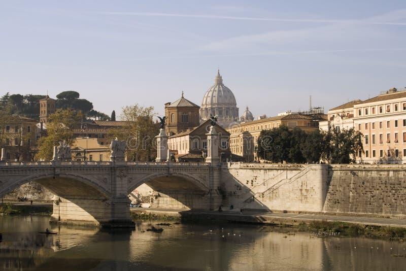 Fleuve de Tiber photographie stock libre de droits