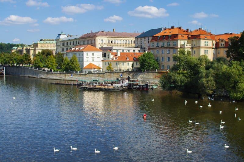 Fleuve de Vltava images stock