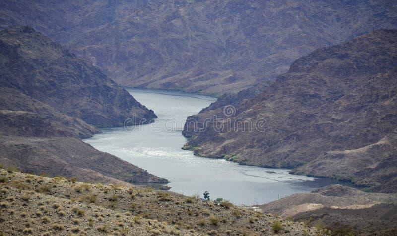 fleuve en fer à cheval Etats-Unis de l'Arizona le Colorado photos libres de droits