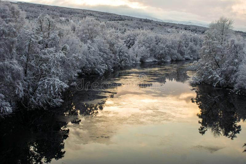 Fleuve glacial images stock
