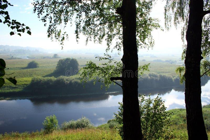 Fleuve (manoir Trigorskoe) photo libre de droits