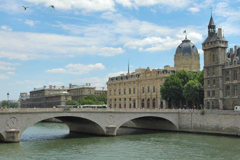 Fleuve Seine - Paris photographie stock libre de droits