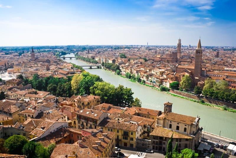 fleuve Vérone d'adige photos stock