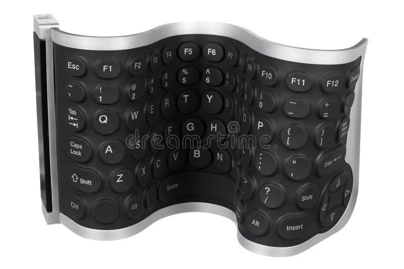 Flexibel Computertoetsenbord royalty-vrije stock foto's