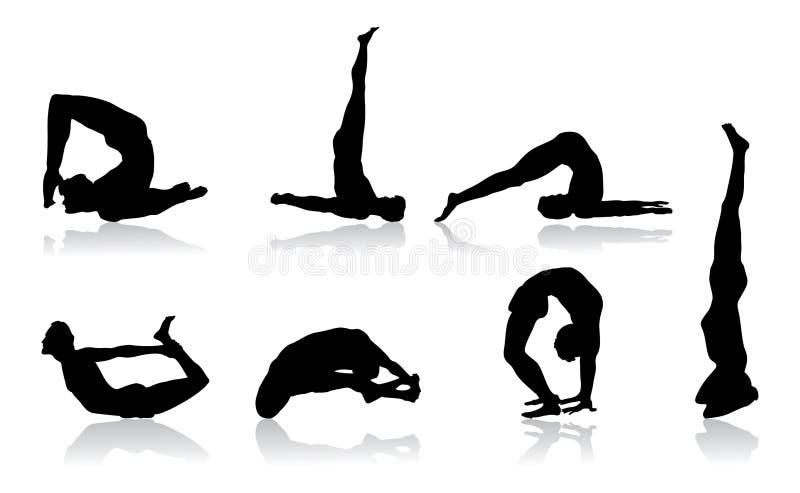 Flexibilidade ilustração stock