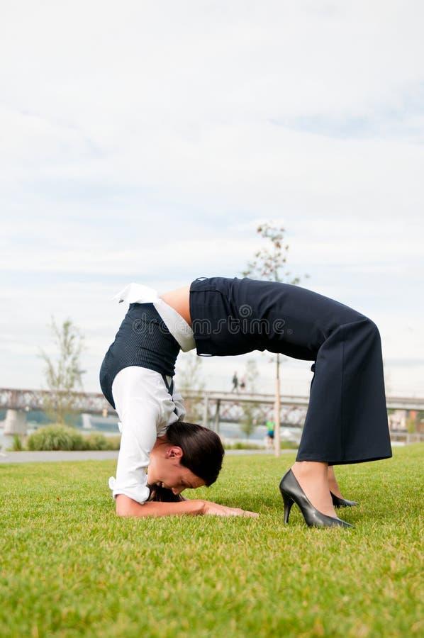 Free Flexibility - Business Woman Royalty Free Stock Photo - 16603185