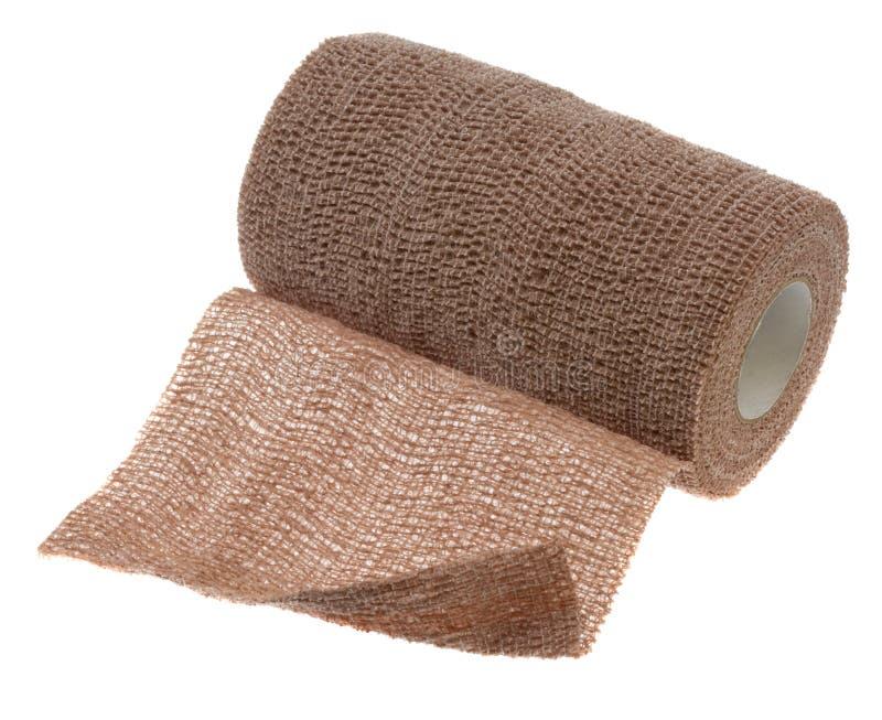 Flexible cohesive bandage wrap royalty free stock image