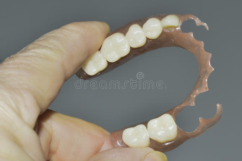 Flexible prosthesis 8 royalty free stock images