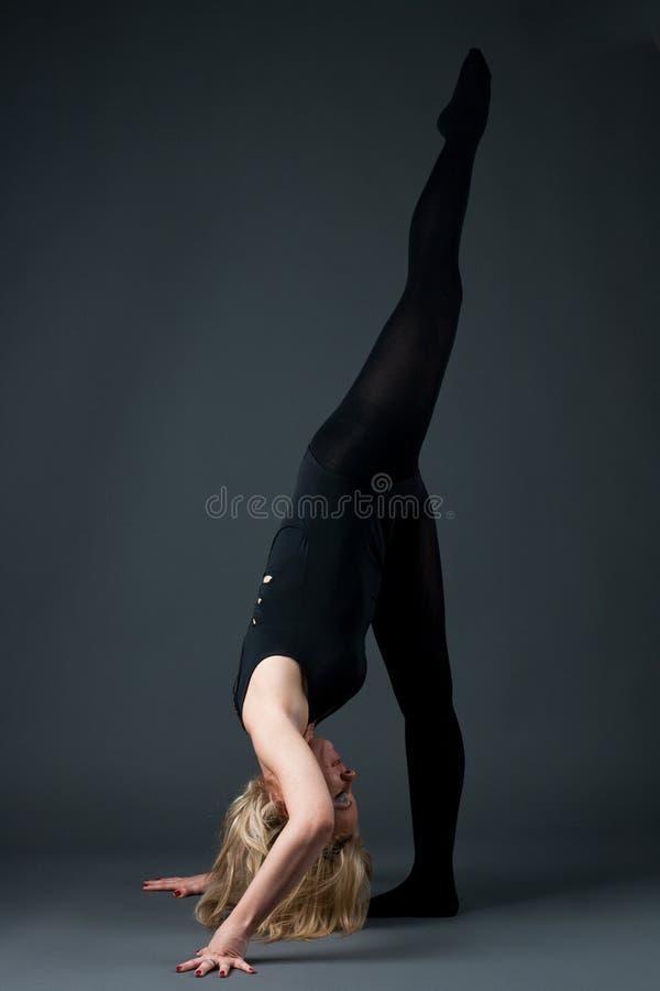 Download Flexible woman stock photo. Image of activity, girl, flexible - 19198334