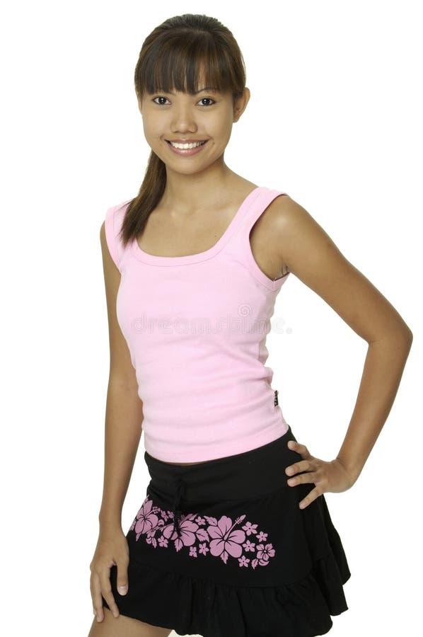 Flicka För Asiat 2 Royaltyfri Fotografi