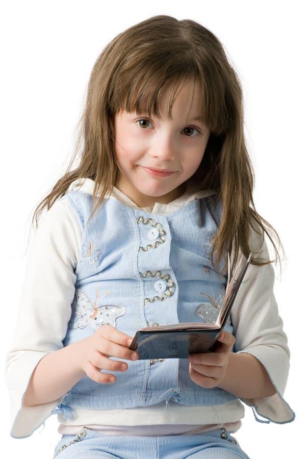 flicka little passstående arkivfoton