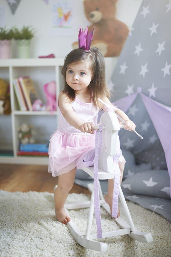 flicka little sötsak royaltyfria bilder