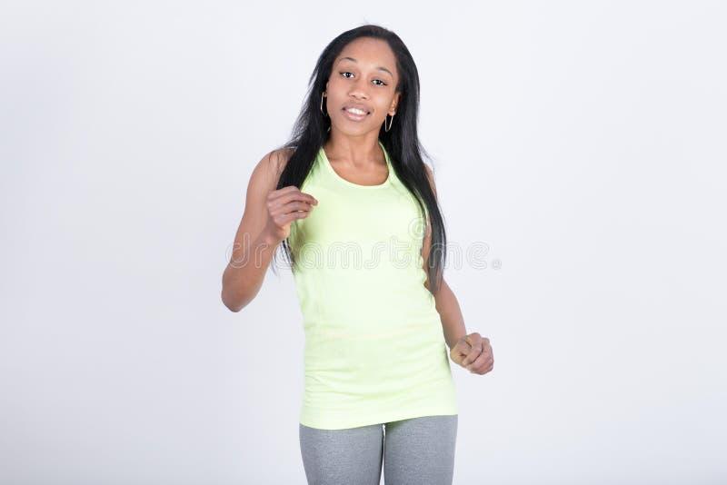 Download Flickadans Med Sportklänningen Arkivfoto - Bild av acridly, kondition: 78726520