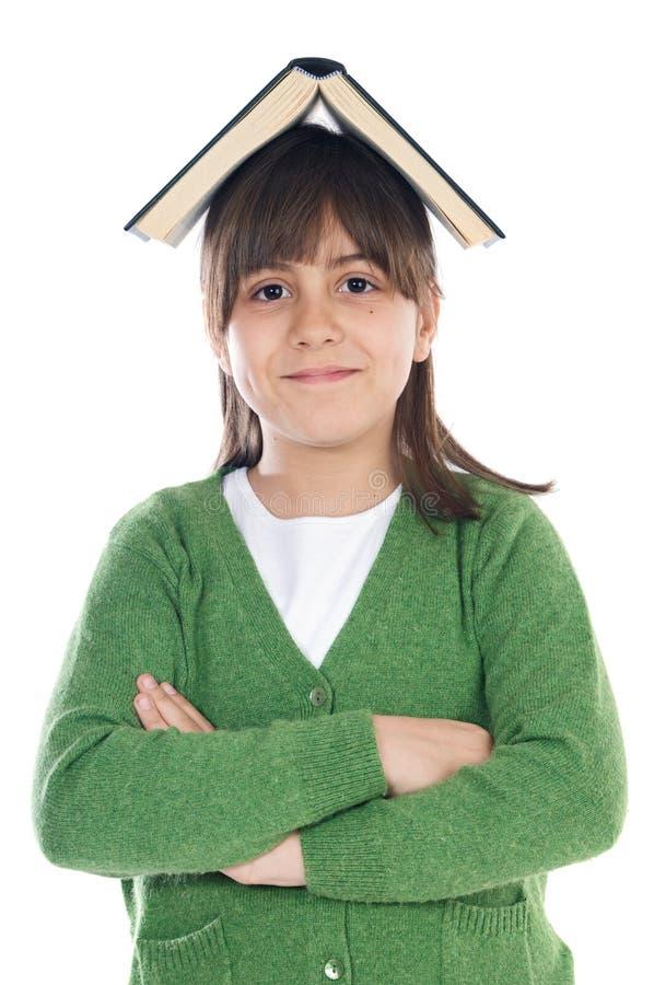 flickadeltagare royaltyfri bild