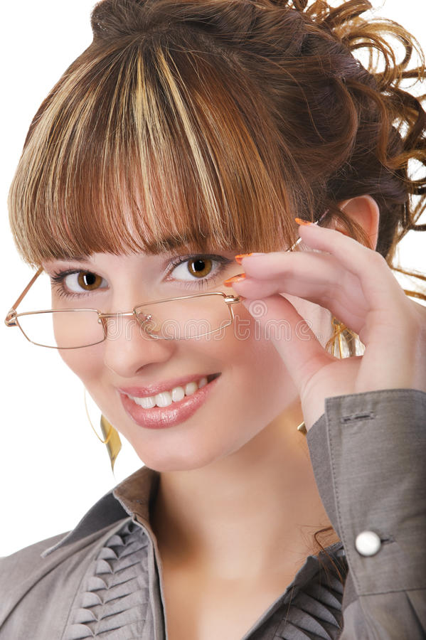 flickaexponeringsglas arkivbild