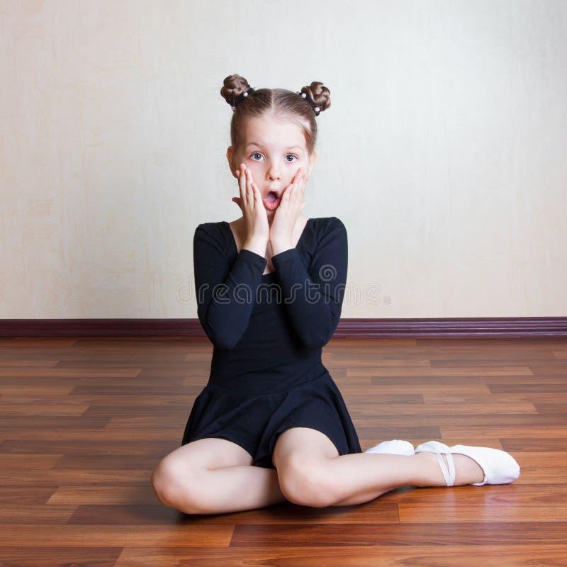 Flickagymnast royaltyfri bild