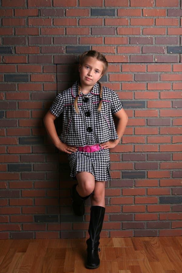 flickahandhöfter utrustar nätt stilfullt arkivfoton