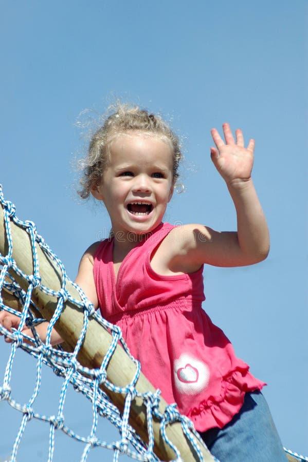 flickahandvåg royaltyfria bilder
