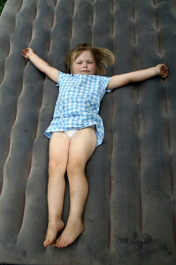 flickaläggande fotografering för bildbyråer