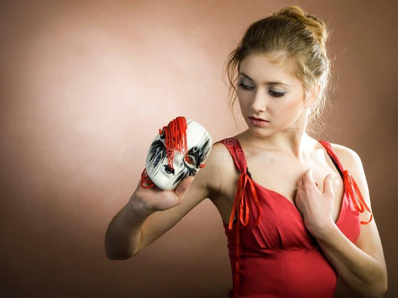 flickamaskering fotografering för bildbyråer