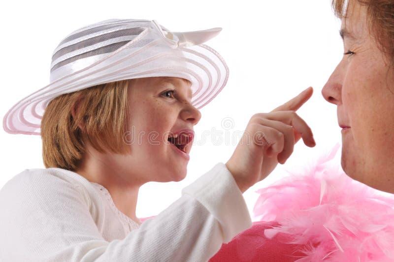 flickan behöver pecial royaltyfria bilder