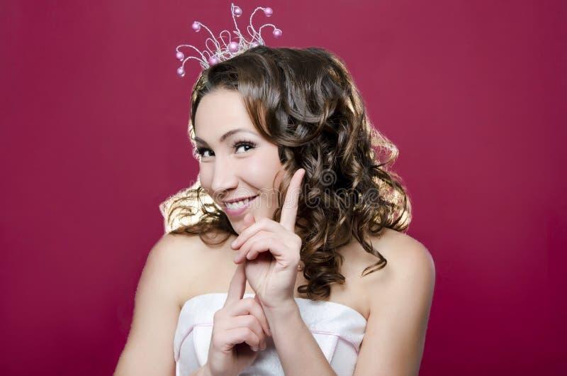 Glad Princess royaltyfria bilder