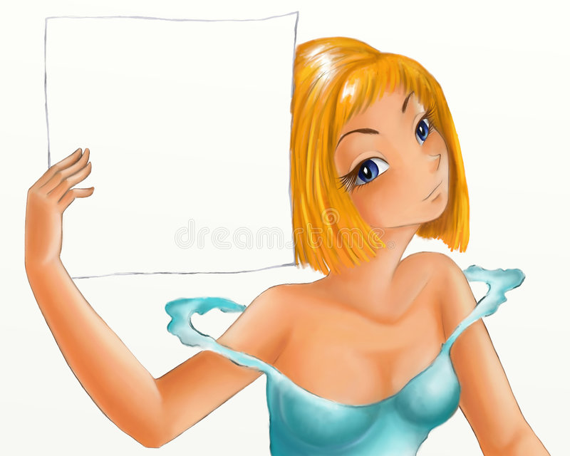 flickapapper vektor illustrationer
