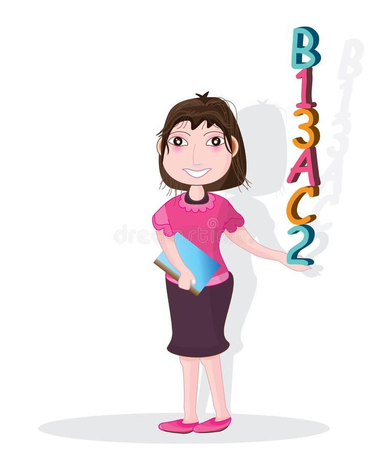 Flickashowabc 123 stock illustrationer