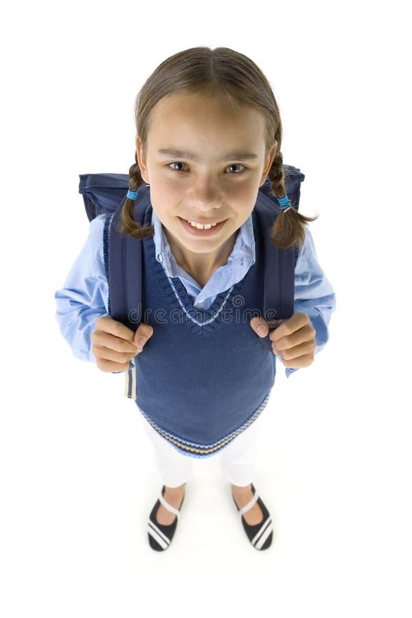 flickaskola arkivbild