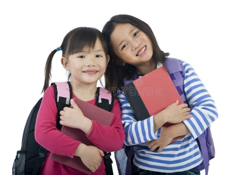 flickaskola arkivfoto