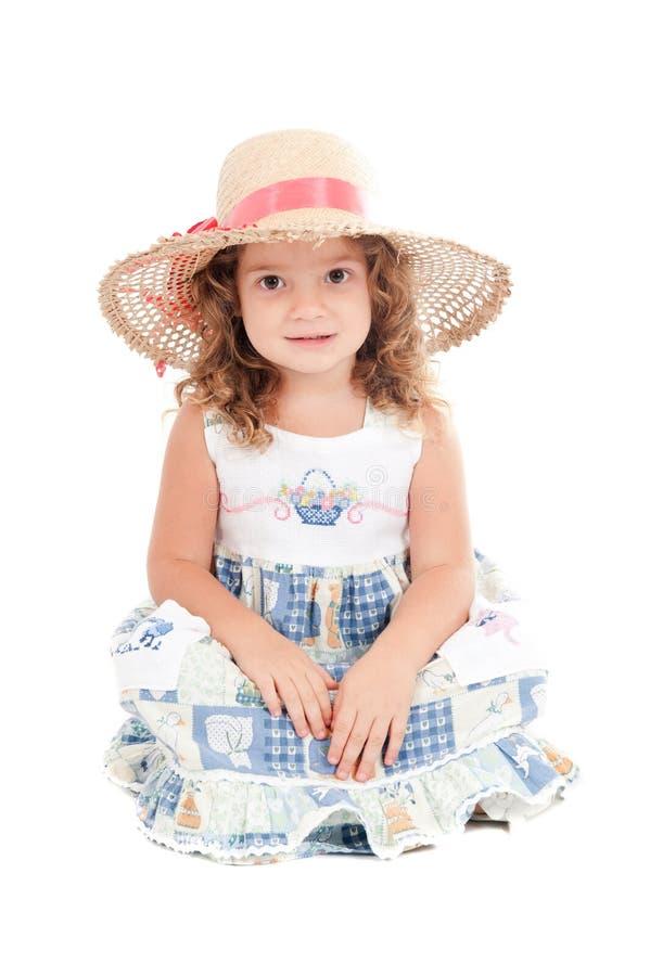 flickastående royaltyfri bild