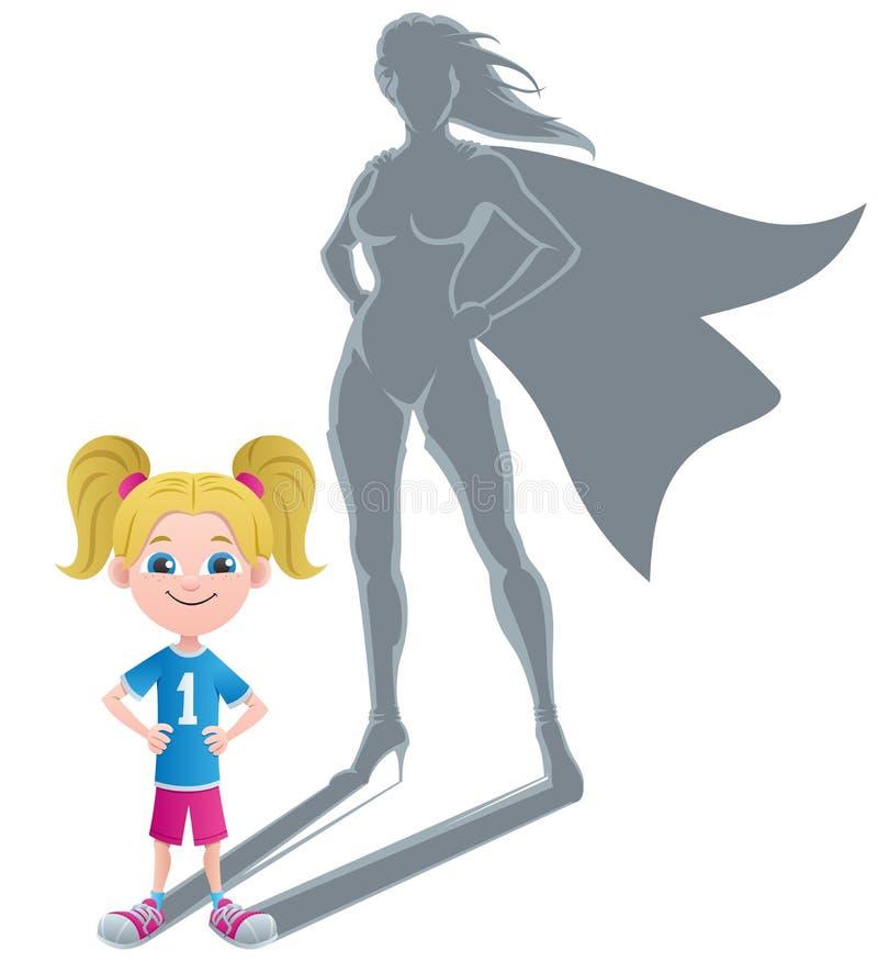 Download FlickaSuperheroinebegrepp 2 Vektor Illustrationer - Illustration av hjälte, element: 37344530