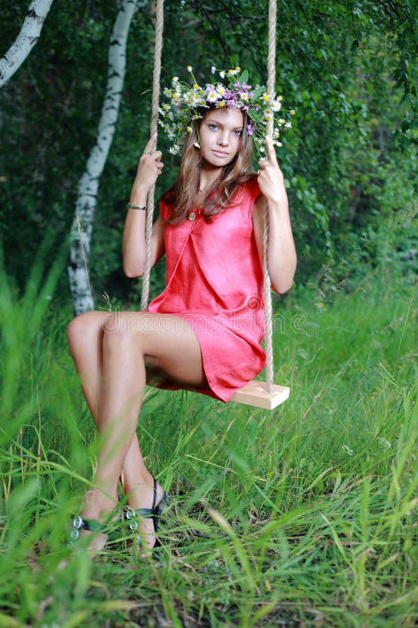 flickaswing fotografering för bildbyråer