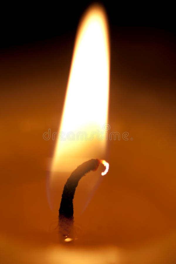 Flickering Flame Royalty Free Stock Photos