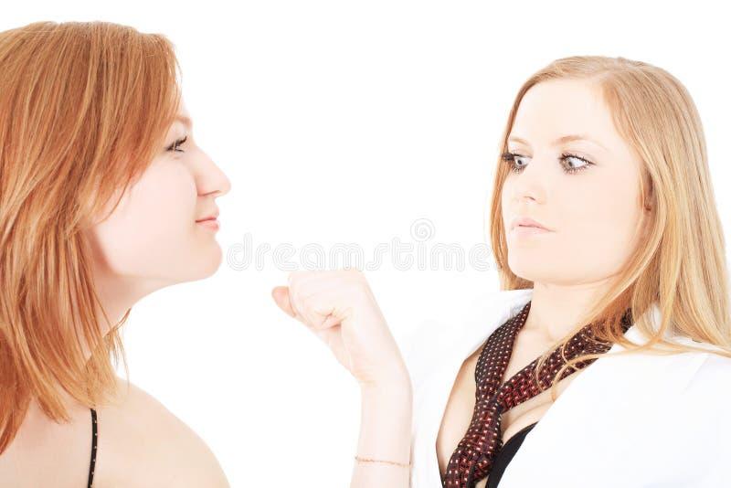 flickvänner två royaltyfria bilder