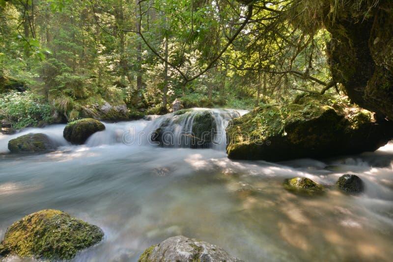 Fließendes Wasser lizenzfreies stockbild