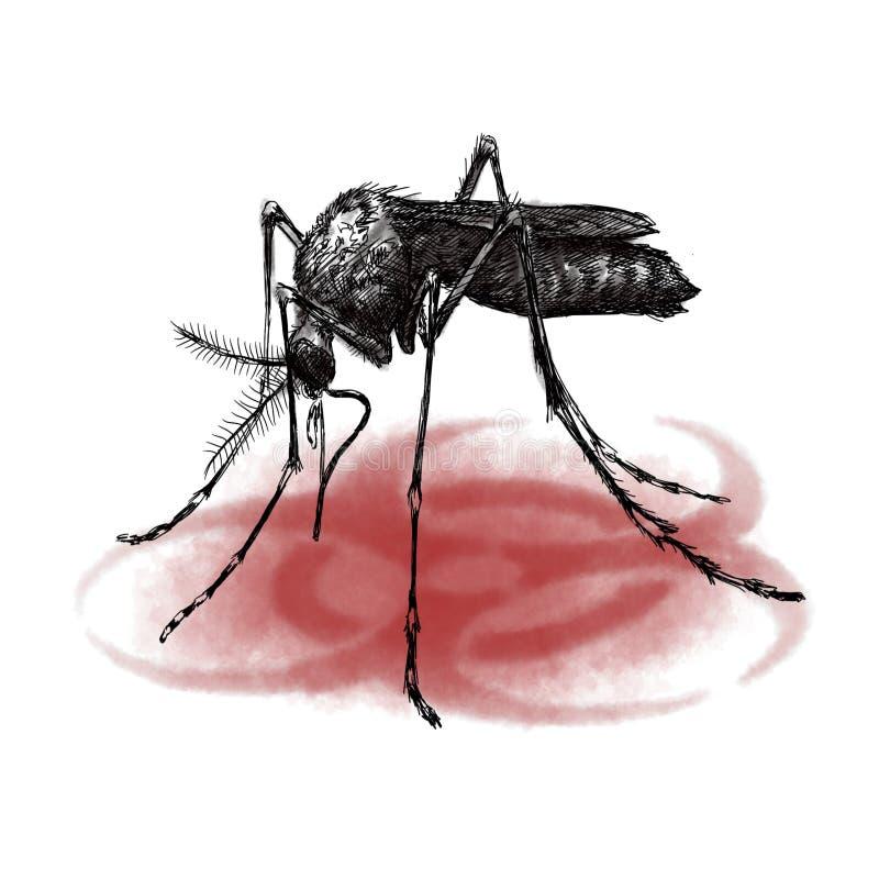 Fliegen Biohazard stockfoto
