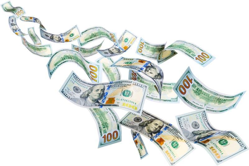 Fliegen-Dollar lizenzfreie stockfotografie
